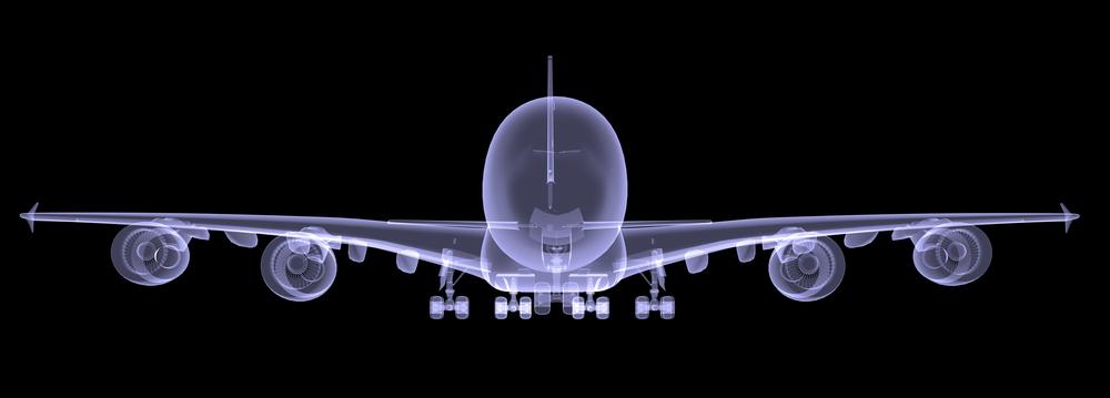 airplane xray