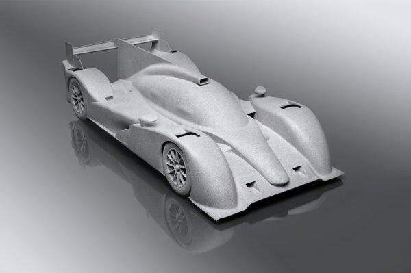 SLS Alumide Le Mans Racer model